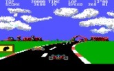 Pole Position II for IBM PC/Compatibles - Racing; here's a sharp turn!