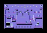 Impossible Mission II for Commodore 64 - The same room as before with the lights on.