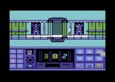 Impossible Mission II for Commodore 64 - Attempting to enter the code to reach the next tower.
