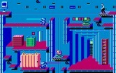 Impossible Mission II for Amiga - Each room has a different layout.