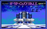 Impossible Mission II for IBM PC/Compatibles - Title screen.