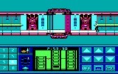 Impossible Mission II for IBM PC/Compatibles - The entrance to the next tower is currently locked.
