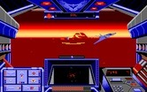 Stellar 7 for Amiga - Some opponents can fly...