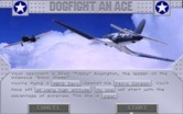 Aces of the Pacific for IBM PC/Compatibles - Dogfight an ace overview.