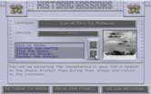 Aces of the Pacific for IBM PC/Compatibles - Select a historic mission.