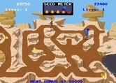 Road Runner for Arcade screenshot thumbnail - The coyote has springs allowing it to jump off of the path.