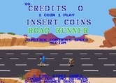 Road Runner for Arcade screenshot thumbnail - Game attract mode.