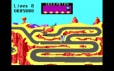 Road Runner for IBM PC/Compatibles screenshot thumbnail - This section of road is very maze like.