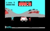 Road Runner for IBM PC/Compatibles screenshot thumbnail - Don't get hit by passing trucks.
