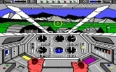 Infiltrator for IBM PC/Compatibles - Taking off...