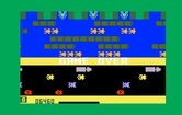 Frogger for Intellivision - Game over.