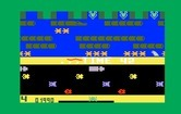 Frogger for Intellivision - Earn bonus points for time remaining when reaching a berth.