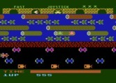 Frogger for Atari 5200 - Help the lady frog for bonus points.