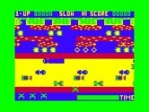 Frogger for TRS-80 Color Computer - Game start.