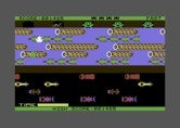 Frogger for Commodore 64 - Almost to my destination...
