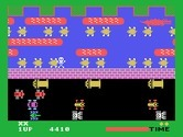 Frogger for TI-99/4A - Don't fall in the water...