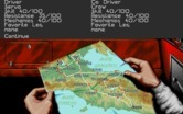 1000 Miglia for IBM PC/Compatibles screenshot thumbnail - Map of the course.