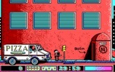 Avoid the Noid for IBM PC/Compatibles screenshot thumbnail - Outside the building; ready to deliver pizza?