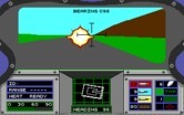 Abrams Battle Tank for IBM PC/Compatibles screenshot thumbnail - Enemy tank firing!