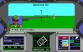 Abrams Battle Tank for IBM PC/Compatibles screenshot thumbnail - Enemy tank destroyed!