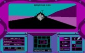 Abrams Battle Tank for IBM PC/Compatibles screenshot thumbnail - Uh oh, an enemy tank is firing.