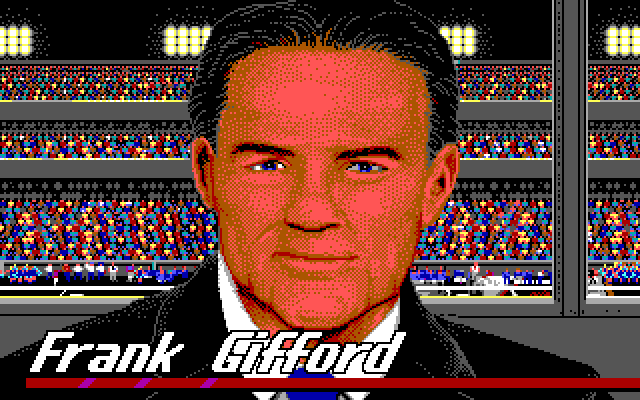 Introducing Frank Gifford!