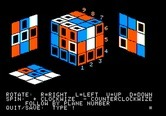 Adventure Quest IV for Apple II - Rubix Cube - Attempting to solve the cube...
