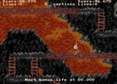 Indiana Jones and the Temple of Doom for Arcade - Don't fall off of the path into the lava...