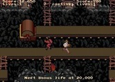 Indiana Jones and the Temple of Doom for Arcade - On more difficult levels there are conveyer belts to deal with...