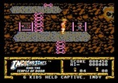 Indiana Jones and the Temple of Doom for Apple II - Rescued one of the captive children.