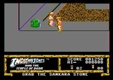 Indiana Jones and the Temple of Doom for Apple II - A guard blocks this path...