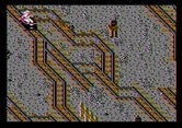 Indiana Jones and the Temple of Doom for Apple II - Avoid the dead end tracks!