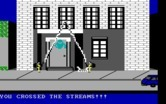 Ghostbusters for IBM PC/Compatibles - Don't cross the streams!