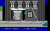 Ghostbusters for IBM PC/Compatibles - Slowly trapping the ghost...