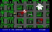 Ghostbusters for IBM PC/Compatibles - The marshmallow man causes some damage...
