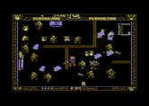 Gremlins for Commodore 64 - More walls are added as the game progresses...