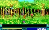 Revenge of Defender for IBM PC/Compatibles screenshot thumbnail - Multiple enemies closing in...