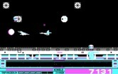 Revenge of Defender for IBM PC/Compatibles screenshot thumbnail - Avoiding a head on collision is recommended.