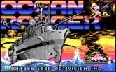 Ocean Ranger for IBM PC/Compatibles - Title screen
