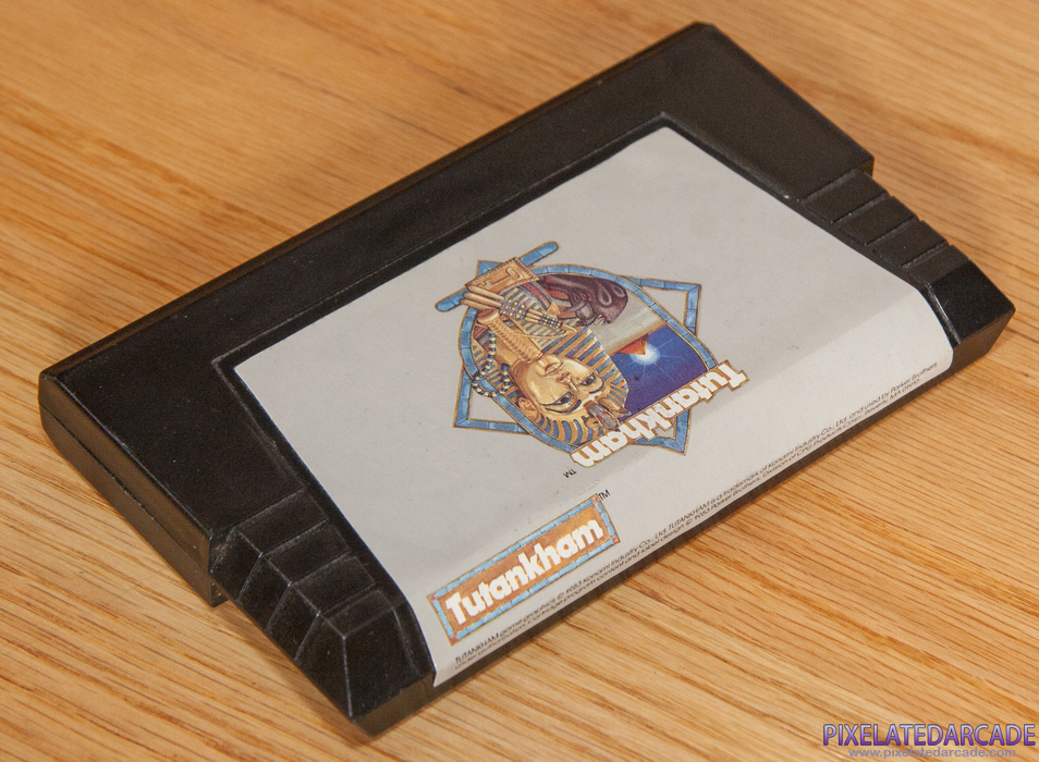 Tutankham Cover Art: Game cartridge