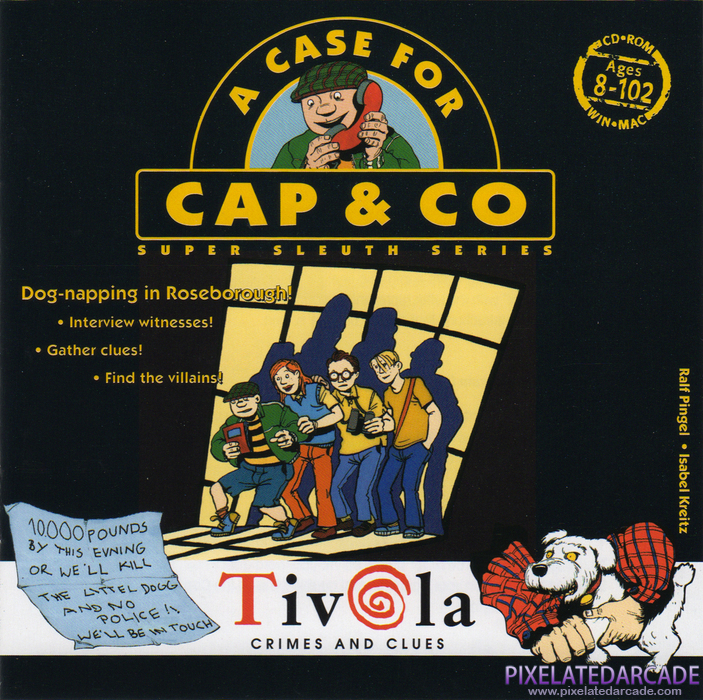 A Case for Cap & Co Cover Art: Front