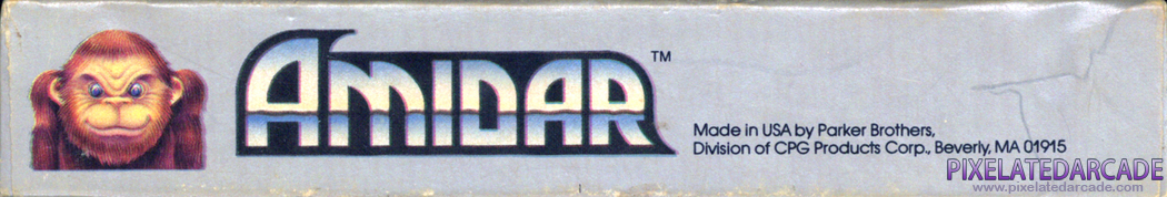Amidar Cover Art: Bottom Spine
