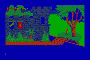 King's Quest actual CGA palette