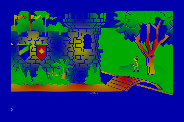 King's Quest alternate CGA palette