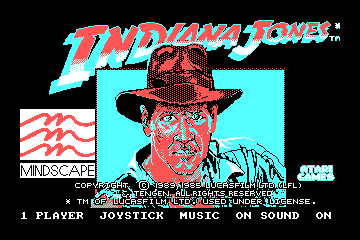 Indianna Jones and the Temple of Doom hypothetical CGA palette