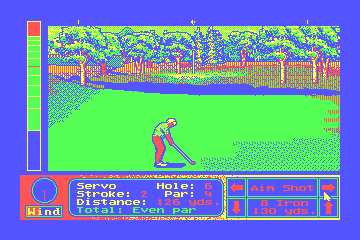 Jack Nicklaus' Unlimited Golf & Course Design hypothetical CGA palette example 2