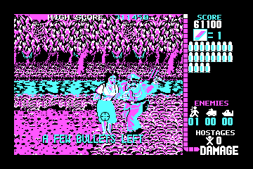 Operation Wolf actual CGA palette example 2