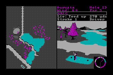 World Tour Golf actual CGA palette example 2