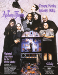 The Addams Family flyer - Front