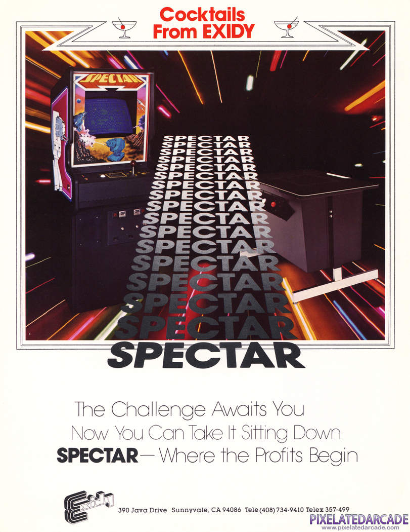 Spectar Advertisement: Spectar flyer - Front